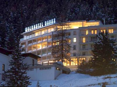 Hotelbeschriftung: Waldhotel Davos
